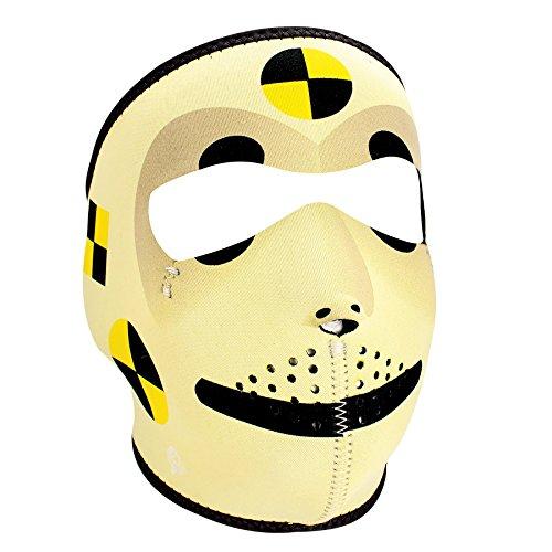 Crash Dummy Mask (ZANheadgear Neoprene Face Mask (Crash Test Dummy))