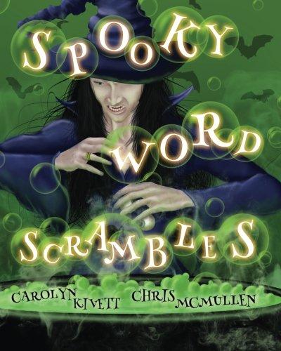 Spooky Word Scrambles: Haunted Halloween Puzzles (Halloween Word Jumble)