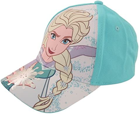 Disney Little Girls Frozen Cotton Baseball Cap 2 Piece Design Set Age 2-7