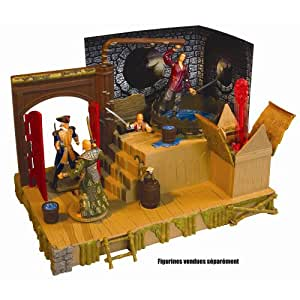 Disney Pirates of the Caribbean At World's End Singapore Battle Playset
