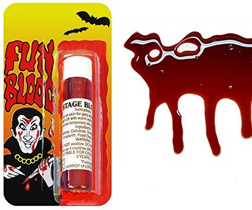 30ml vial of fake blood - Farce and grabs - Accessory theater cinema - special effects makeup vampire halloween by PATRICKS ()
