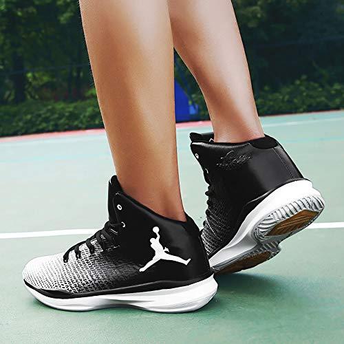 Homme Rsistant top L'usure Baskets Nouveaut Automne Chaussures Chaussure Basketball 2018 De Printemps High Pour Noir O7qCXvwv