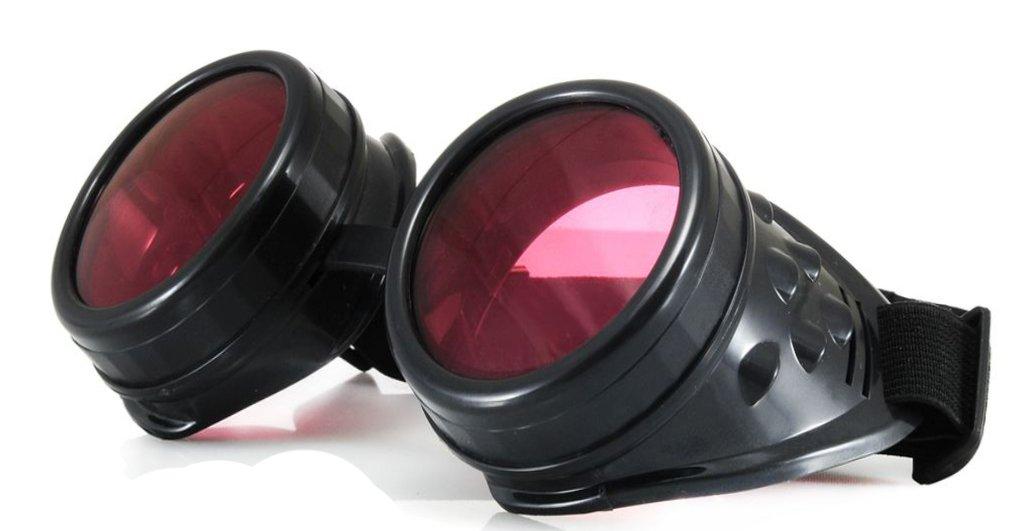 4sold Steampunk rosa con picos cibernéticos de cobre plata Cyber Goth Rave Gafas Sol plus como victo...