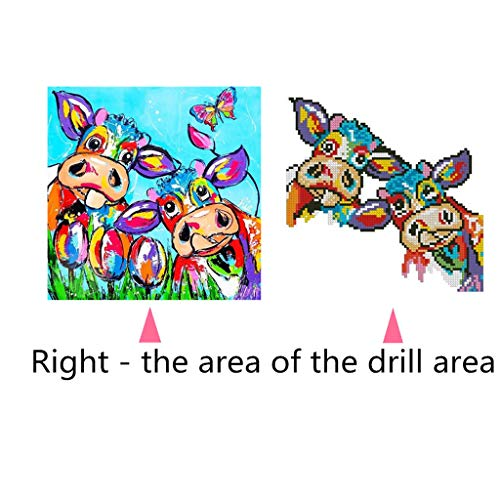 Pengy 5D Diamond Painting Kits for Adults Full Drill Diamond Embroidery Colorful Animal]()