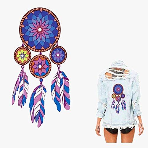 LiPing Dream Catcher New Beautiful Patch T-shirt Sweater The
