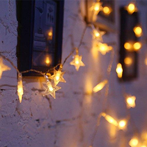 Yellow Decorative Light String - 4