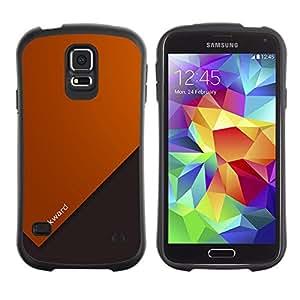 Paccase / Suave TPU GEL Caso Carcasa de Protección Funda para - Motivational Quote Life Forward Slogan Art - Samsung Galaxy S5 SM-G900