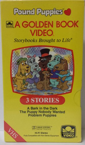 pound-puppies-a-bark-in-the-dark-the-puppy-nobody-wanted-problem-puppies-vhs