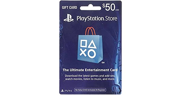 Amazon.com: PlayStation Store Tarjeta de Regalo 50 ...