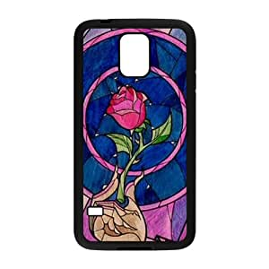 New Style Custom Picture Beauty and the Beast Case Cover For samsung galaxy S5 Case