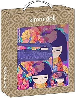 Safta- Set con un Cuaderno, un Estuche y una Carpeta, Color kimmidoll Morado/Multicolor, 280 x 60 x 350 mm (311831588): Amazon.es: Oficina y papelería