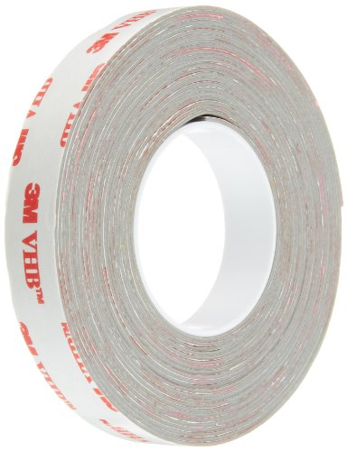 3M VHB Tape RP32 0.5 in width x 5 yd length (1 Roll) 3 Meter Vhb Double Sided Tape