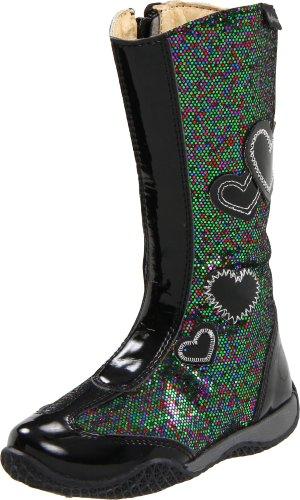 Naturino 4221 Boot (Toddler/Little Kid),Nero/Multi (1),24 EU (8-8.5 M US Toddler)