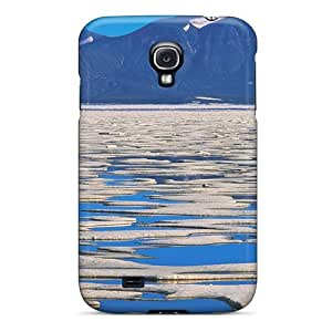 Sanp On Case Cover Protector For Galaxy S4 (jugging On Melting Ice Flow)