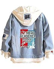 Boku No Hero Academia My Hero Academia Denim Jacket Graphic Hoodie Cosplay Unisex Anime