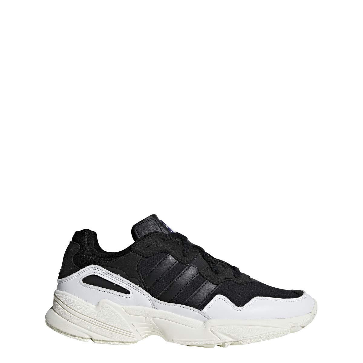 pretty nice 60d76 a27ee Amazon.com   adidas Originals Yung-96 - Men s White Black Off White Nylon  Running Shoes   Shoes
