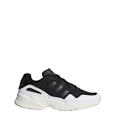 d91ebeace4141 adidas Originals Yung-96 - Men s White Black Off White Nylon Running Shoes