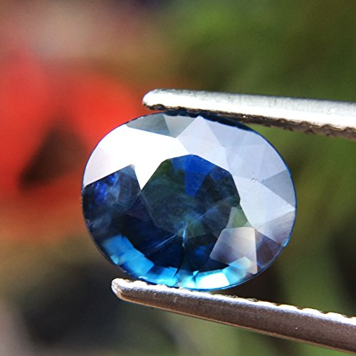 1.51ct Natural Oval Unheated Blue Sapphire Thailand #B by Lovemom (Image #3)