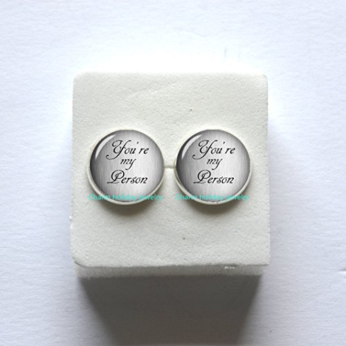 2 Person Costume Ideas Halloween (You're My Person Earrings,Best Friend Gifts,Best Friend Earrings,Friend Birthday Gift,Valentines gift,Birthday Gift,Gift Ideas For Her, Gifts For Women)