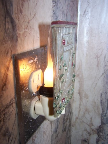 Candle-like Bulb... Save $ on Discount Box of 12. Softer Glow, 3 Watt Large Silicone Dipped Light Bulbs. Exclusive Home Interior Accessories