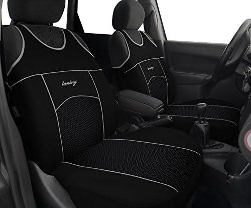 Design VIP Super Qualit/ät T-Shirt POK-TER-BUS Autositzbez/üge T-Shirt Fahrersitz + Beifahrersitz Passend f/ür ML W-163 in Diesem Angebot Schwarz