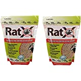 (2 Pack) RatX All-Natural Non-Toxic Rat and Mouse Killer Pellets, 3-Pound Bags