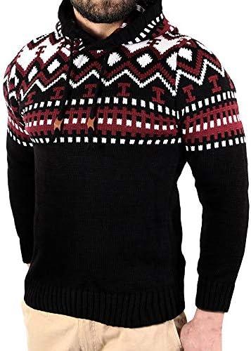 Suéter de Invierno de los Hombres de Punto de otoño Chaqueta de ...
