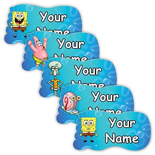 SpongeBob SquarePants Theme Personalized Waterproof Scuff-Proof Shoe (Adult Themes In Spongebob)