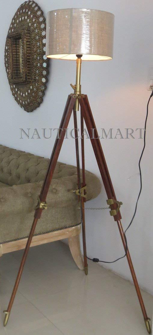 Tripod Classic Nauticalmart Lamp Vintage Floor Nautical mnwyN0Ov8