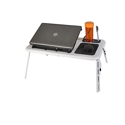 L & LQ ordenador portátil escritorio portátil mesa multiusos portátil Lazy Big capacidad plegable portátil con