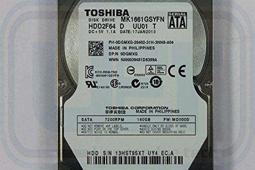 Dell DGMXG MK1661GSYFN 2.5