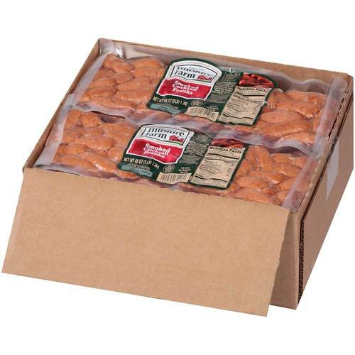 Sausages Little (Sara Lee Hillshire Farms CN Little Smokie Cocktail Smoked Sausage Link, 3 Pound - 4 per case.)