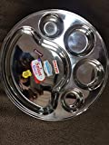 Premium Quality 100% Stainless steel -Plate/Thali 4...