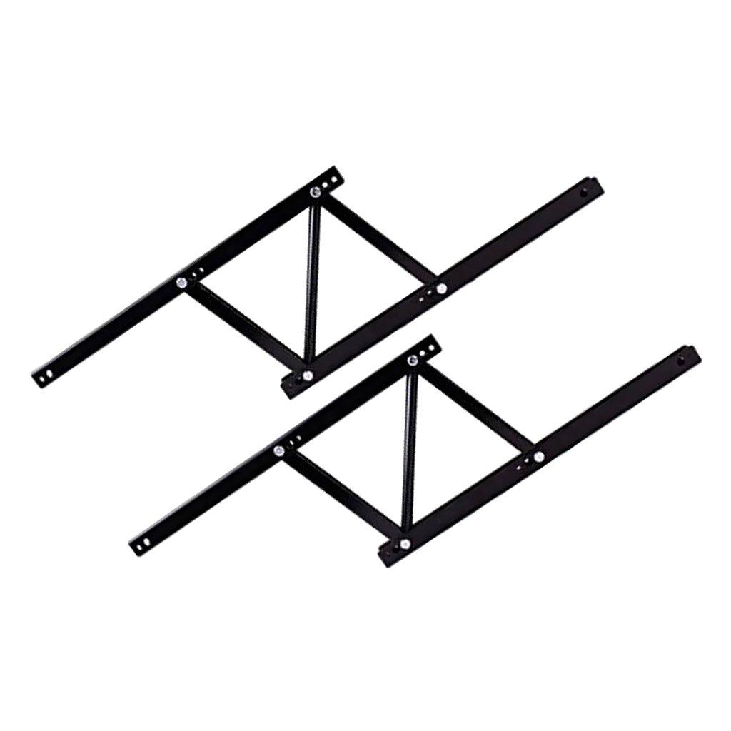 IPOTCH Mesa Elevadora Negra Accesorios de Escritorio Multifuncional Durable Casera F/ácil Universal
