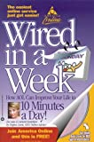 AOL Logo! Wired in a Week, Regina Lewis, 0446677361
