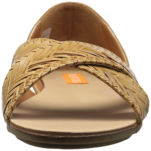 Tan Smooth PU Flat Dog Ballet PU Colima Jenkins Rocket Womens zRqUP