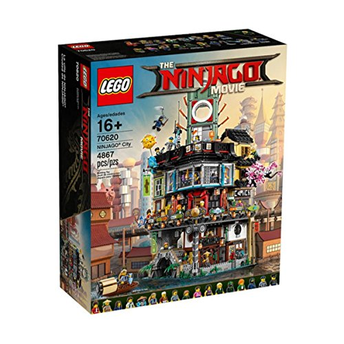 c3c7af337540 on sale Lego Ninjago City 70620 - The Ninjago Movie 4867 pieces - limited  Edition