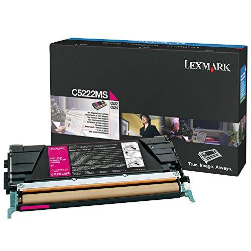 Lexmark C5222MS Magenta OEM Toner Standard Yield (3,000 Yield)