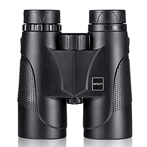 HUTACT Compact Binoculars for Bird Watching with Strap - 10x42