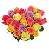 24 Stems Rainbow Roses