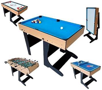 Multi 1 Table En Jeux Riley 12 Pliable Billard 9HIWED2