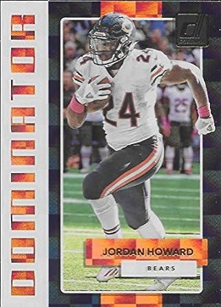 257c0fc5ad0 Amazon.com: 2017 Donruss Dominators #38 Jordan Howard NM-MT Bears ...