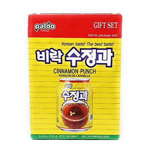 Paldo Cinnamon Punch Giftset 238mL X 12 cans Gift set (Cinnamon Punch)
