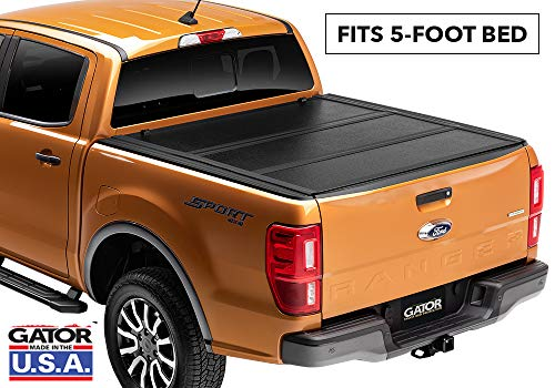 Gator Covers Gator EFX Hard Folding Truck Tonneau Cover | GC24022 | Fits 2019 Ford Ranger 5' Bed