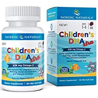 Nordic Naturals Children's DHA Xtra - Potent Omega 3 Formula with Twice The DHA...