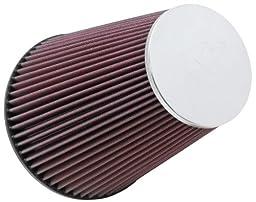K&N RC-5046 High Performance Universal Clamp-on Chrome Air Filter