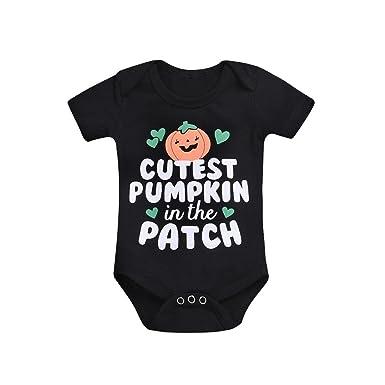 9c73b7b89 Amazon.com  Clearance Sale!! Baby Boy Girl Halloween Cartoon Pumpkin ...