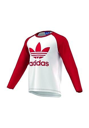 Manches Et Adidas Trefoil Ls À Sports Shirt T Longues r8qawX8