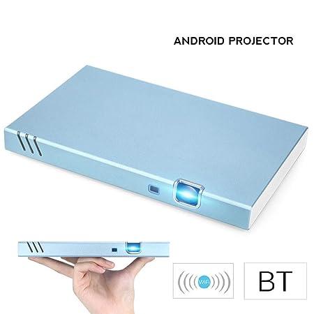 ZDNP Mini portátil Inteligente Android proyector 1280 * 800 ...
