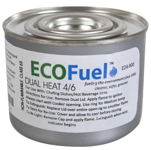 Dual Heat Chafing Fuel Single Can by